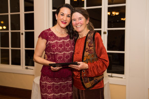SVS Volunteer of the Year! (Photo by Evelyn Huynh)